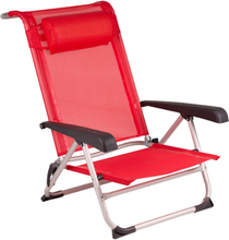 Red Mountain strandstol i aluminium rød 1204793