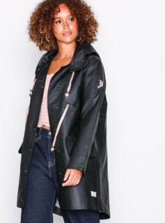 Odd Molly free range rainjacket Parkasjackor Almost Black