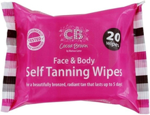 Cocoa Brown Self Tanning Wipes 20 st