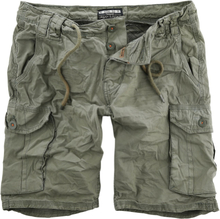 Urban Surface - Men´s Cargo Bermuda -Shorts - olivengrønn
