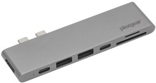 Plexgear Multiadapter for Thunderbolt 3 Space gray