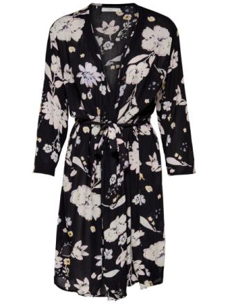 ONLY Printed Kimono Women Black