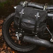 Vintage Locomotives Side Cladding General Waterproof Side Convex Motorcycle Bag Knight Shoulder Bag Helmet bag Package