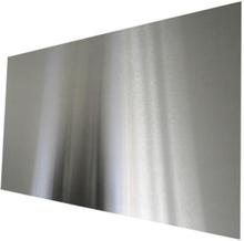 Millarco stänkplatta, fyrkantig 900 x 450 mm - Borstat rostfritt stål