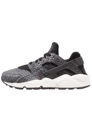 Nike Sportswear AIR HUARACHE RUN PREMIUM Joggesko black/sail/dark grey