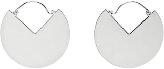 Isabel Marant Silver Hinged 90 Degree Earrings