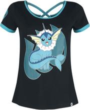 Pokémon - Vaporeon -T-skjorte - svart