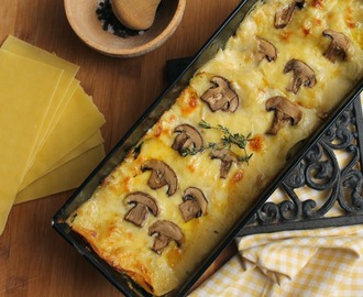 recipe: zapiekanka makaronowa z mięsem mielonym i pieczarkami [38]