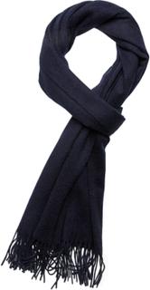 Les Deux Solid Wool Scarf Tørklæde Blå Les Deux
