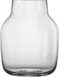 Silent Vase / Large, Ø 15 - Clear