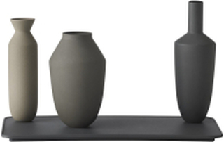 Balance Vase Set / Set Of 3 Vases, Nature