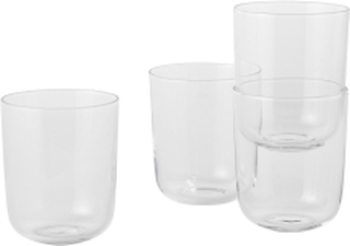 Corky / Carafe & Glasses / Tall, Glasses - Tall - Clear