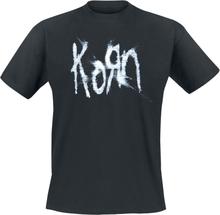 Korn - Burst Logo -T-skjorte - svart