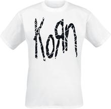 Korn - Wire Fill Logo -T-skjorte - hvit
