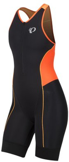 Triathlondräkt Elite Pursuit - Dam fiery coral/orangepop XS