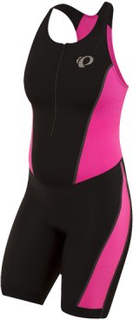 Triathlondräkt Select Pursuit - Dam black/screaming pink XL