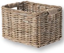 Basil Basket Dorset M Trnsprt - Rattan 35x24x24cm Nature Grey