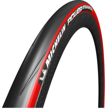 Däck Michelin Power Endurance - röd 23-622/700X23C vikbart