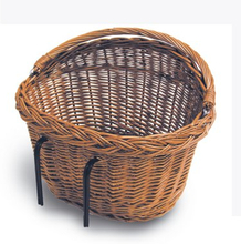 Basil Basket Fron/Rear Detroit - Natural Removable With Hooks (10 st)
