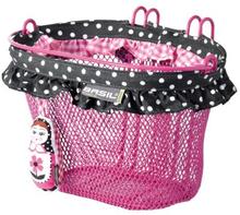 Basil Basket Jasmin Baboushka - 12-20 Inch Handlebar Hooks