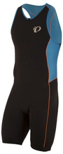 Triathlondräkt Elite Pursuit - black/bel air blue XL