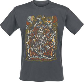 Dark Souls - Gravelord -T-skjorte - grå