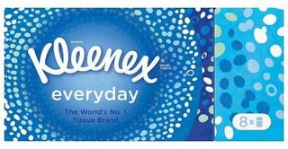Kleenex Everyday Pocket Tissues 8 Pack 72 stk