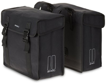 Basil Bicycle Bag Kavan - Double Bag 45L Black