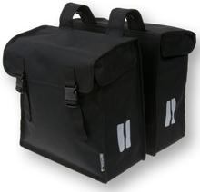 Basil Bicycle Bag Mara - Double Bag 47L Black XXL