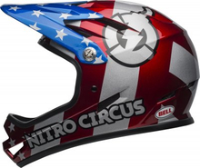 BELL SANCTION Red/Silver/Blue Nitro, M