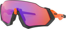 Oakley Flight Jacket Glasögon Neon Orange/Prizm Trail