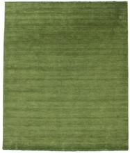 Handloom fringes - Grön matta 250x300 Modern Matta