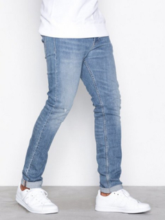 Calvin Klein Jeans Skinny West Jeans Denim Blå