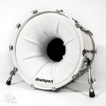 Drumport - Megaport och Glowport (22, Megaport vit)
