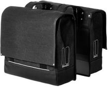 Basil Bicycle Bag Urban Fold - Double Bag 42/55L Black