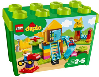 LEGO DUPLO My First 10864, Stor lekplats – Klosslåda