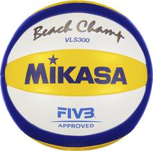 Mikasa Vls 300 Beach Champ Kesäpelit BLUE/YELLOW/WHITE