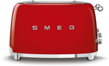 Smeg - Retro Toaster 4 Slices, Red