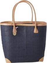 RICE - Raffia Shopping Bag Large, Night