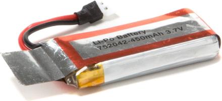 1s 450mAh U841-16 Li-Po Batteri