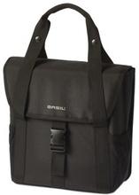 Basil Go - Single Bag 18L Solid Black