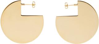 Isabel Marant Gold 90 Degree Earrings