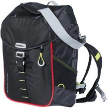 Basil Bicycle Bag Miles - Day Pack 17L Black Lime