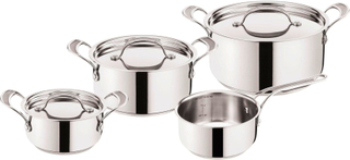 Tefal - Jamie Oliver Premium Pot Set, 4 Pieces