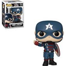 Marvel The Falcon and the Winter Soldier John Walker as Captain America Funko Pop! Vinyl