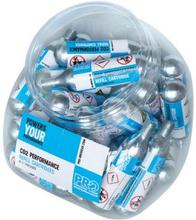 Kolsyrepatron 18-pack - 25gram, gängad (18 st)