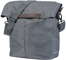 Basil Bicycle Bag City Shopper - Shopper Bag 14/16L Grey Melee