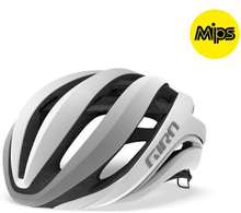 GIRO AETHER MIPS Mat White Silver, S