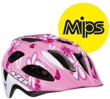 Lazer hjälm P'Nut MIPS - Flower rosa 46-50cm