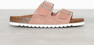 Vero Moda Vmcarla Leather Sandal Tøfler